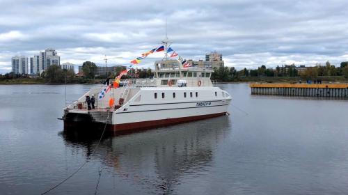 ForPost - Созданный при участии студентов страны «Пионер-М» спущен на воду в Санкт-Петербурге