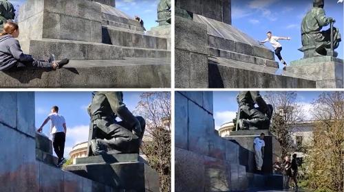 ForPost- В Севастополе памятники стали спортплощадками и игровыми зонами
