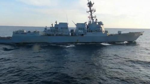 ForPost- Корабль ВМФ РФ пресек попытку эсминца США нарушить российскую госграницу в Японском море