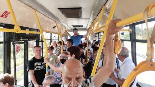 ForPost- В Севастопольском транспорте могут появиться рециркуляторы