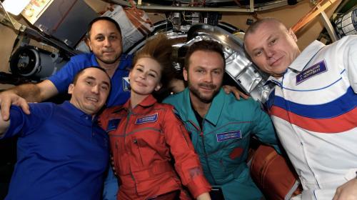 ForPost- Самый севастопольский космический экипаж вернулся на Землю