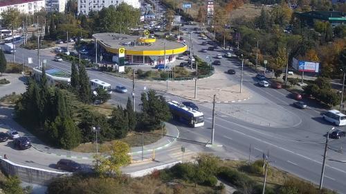ForPost- В Севастополе готовятся к строительству двухуровневой развязки в районе ТЦ «Муссон»