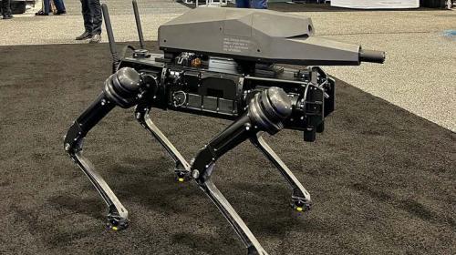 ForPost- В США показали боевых роботов-собак