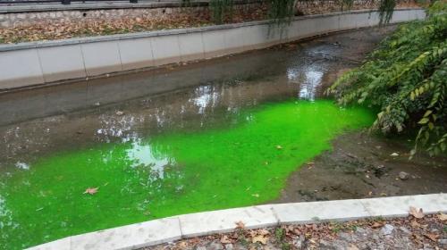 ForPost- Главная река Крыма позеленела