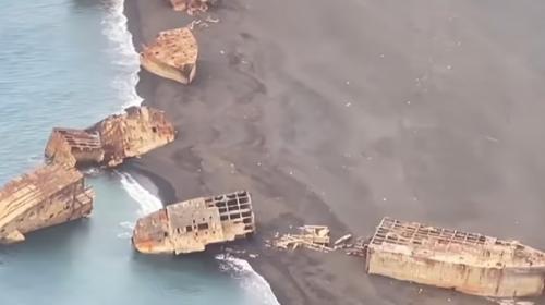 ForPost- «Мир становится всё более странным»: со дна океана поднялись 24 «корабля-призрака»
