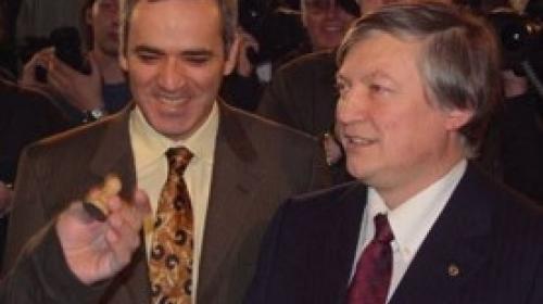ForPost - Каспаров и Карпов отметят 25-летие соперничества