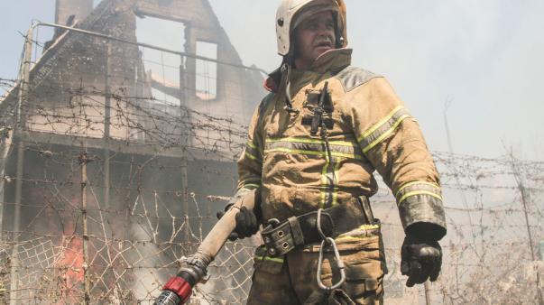ForPost - В Севастополе горели дома на мысе Фиолент