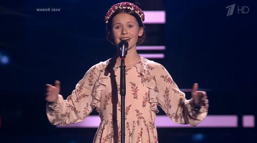 ForPost - Новости : Школьница из Севастополя произвела фурор на программе «Голос. Дети-5»