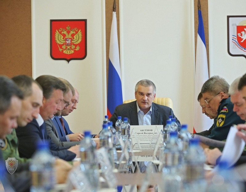 ForPost - Новости : Аксёнов продолжил «раскачку» правоохранителей