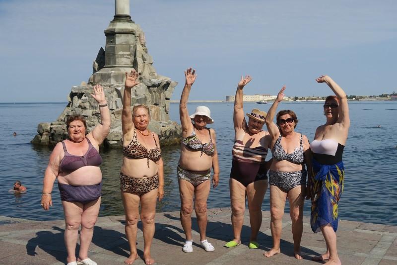ForPost - Новости : В Севастополе у бабушек есть «радость у моря»
