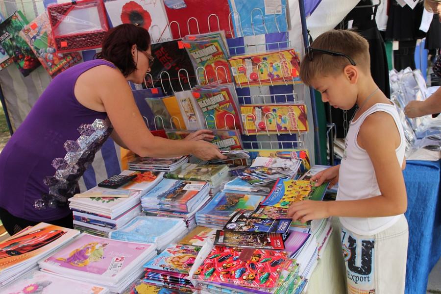 Во всех районах Севастополя откроются школьные ярмарки