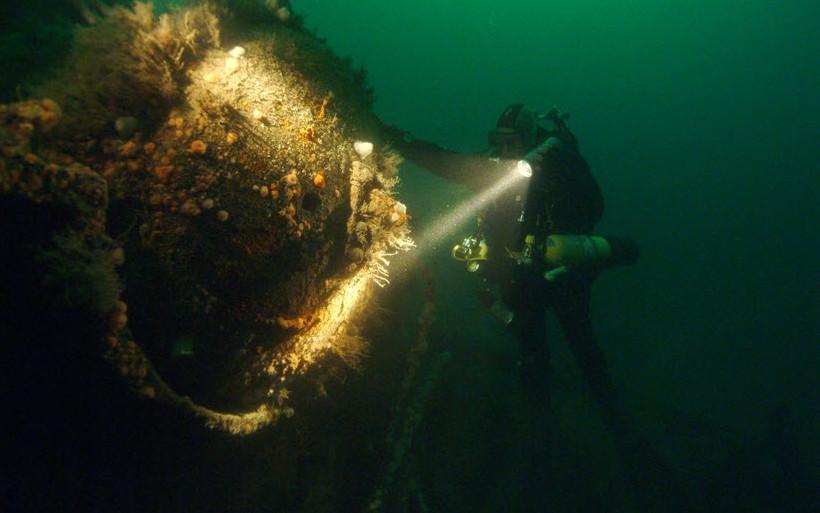 В Севастополе нашли затонувшее судно конца XIX — начала XX века