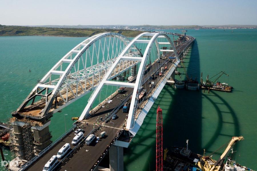 ForPost - Новости : Крымский мост бьет рекорды трафика