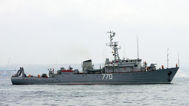 Россия направила к берегам Сирии противоминный корабль
