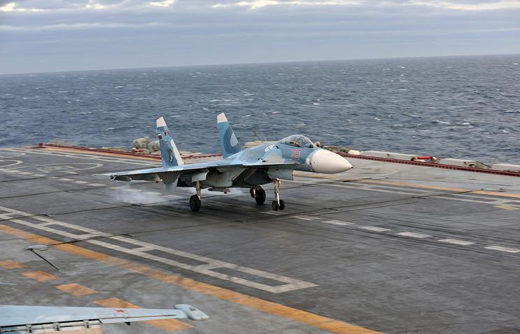 Россия проведет учения в Средиземном море с участием 25 кораблей и 30 самолетов