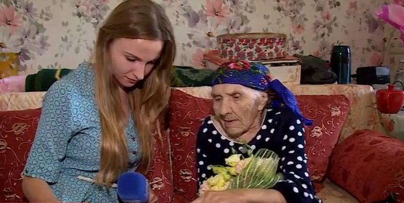 Владимир Путин поздравил жительницу Севастополя со столетием