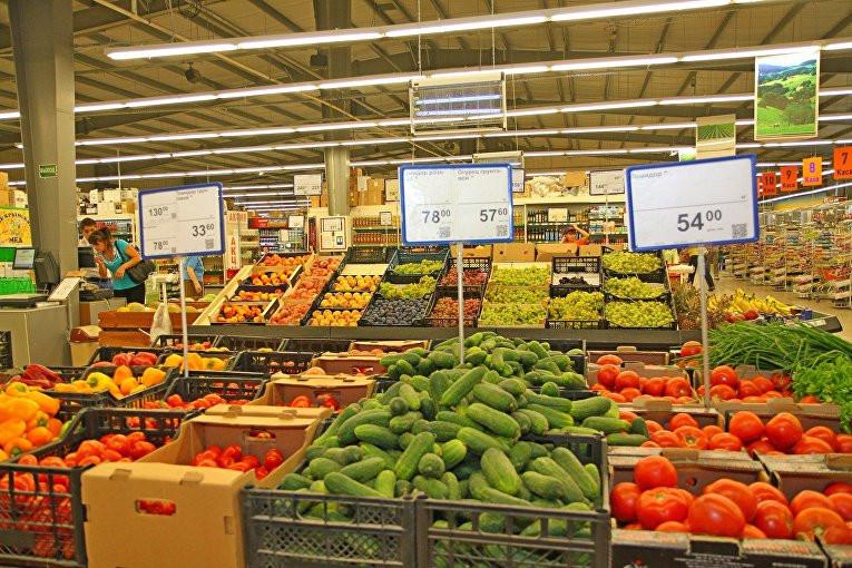 Фото продуктов с ценами в магазине