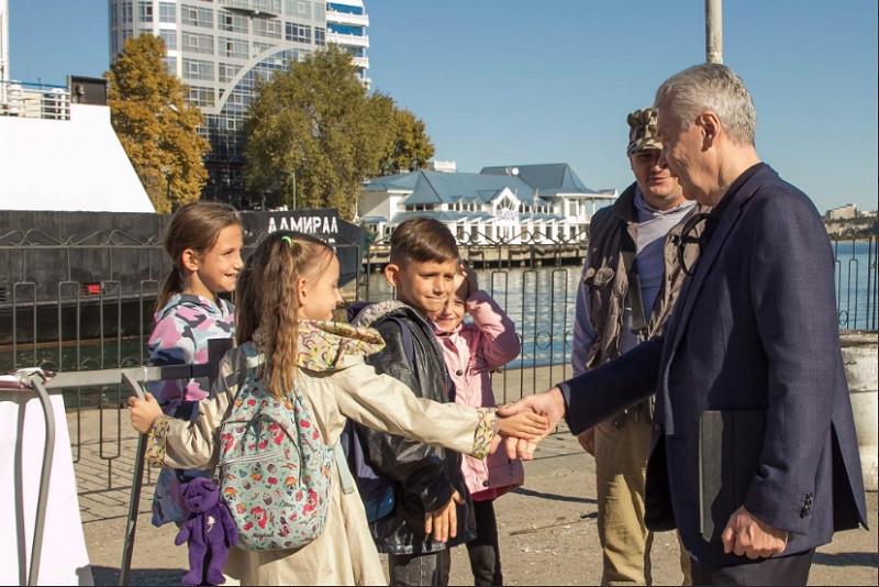 Мэр Москвы с рабочей поездкой находится в Севастополе