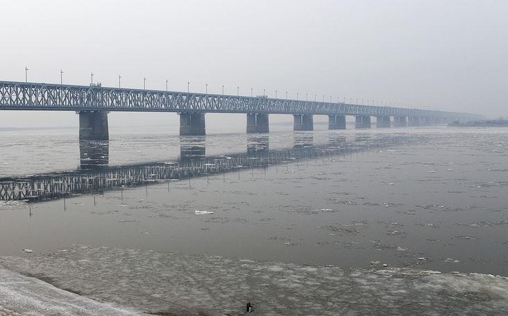 ForPost - Новости : Китай завершил строительство своей части первого железнодорожного моста через Амур