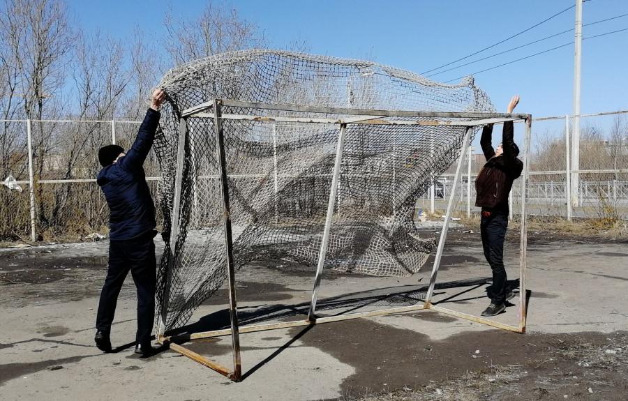 ForPost - Новости : Спортивные площадки в Севастополе закрываются из-за вандалов