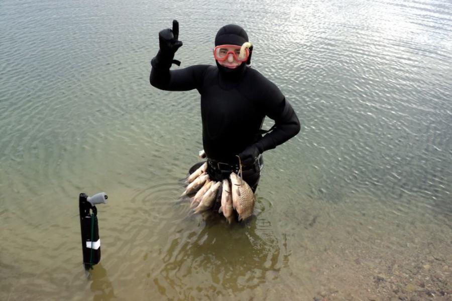 Предлагается запретить подводную рыбалку с аквалангом