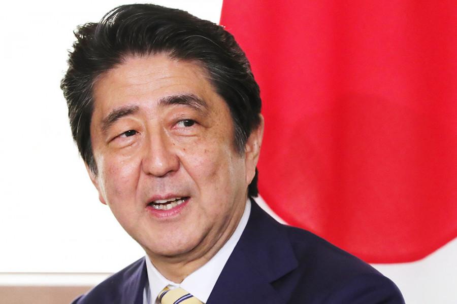 Абэ: Япония намерена заключить мирный договор с Россией