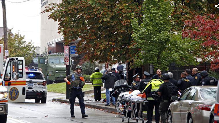 В синагоге в Питтсбурге произошла стрельба, есть погибшие