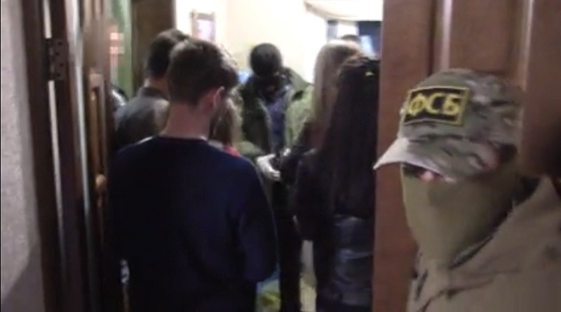Арестован проживавший в Крыму украинский боевик