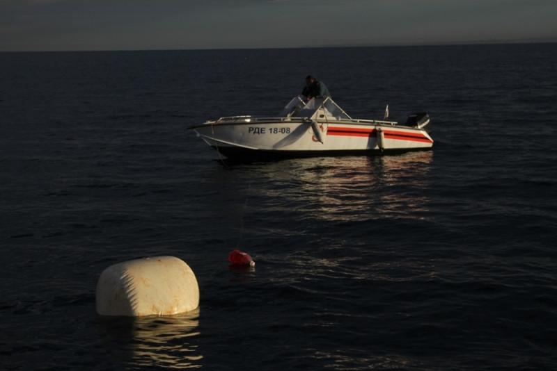 У берегов Севастополя под водой взорвали 128 кг тротила