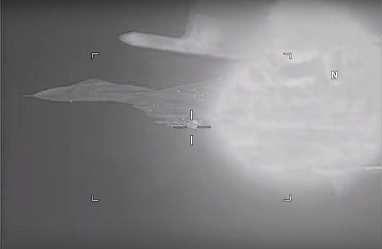 США опубликовали видео, как испугались над Чёрным морем