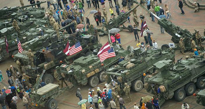 Международные учения с участием США стартовали в Латвии