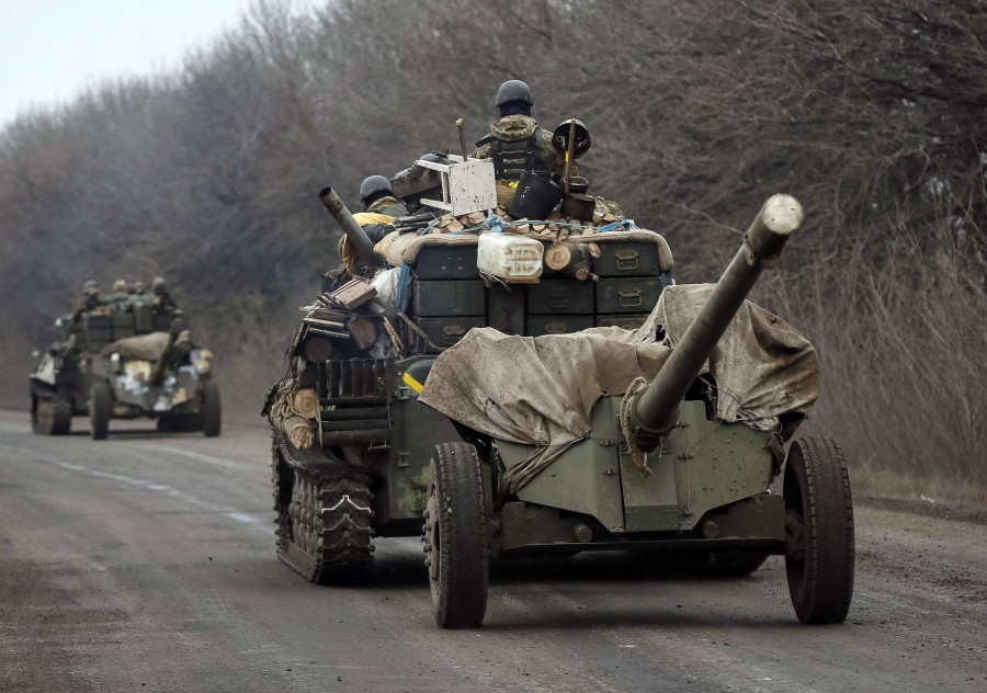 Вблизи линии соприкосновения выявлено тяжелое вооружение ВСУ