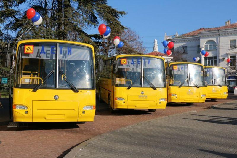 В отдалённые районы Севастополя пустят школьные автобусы