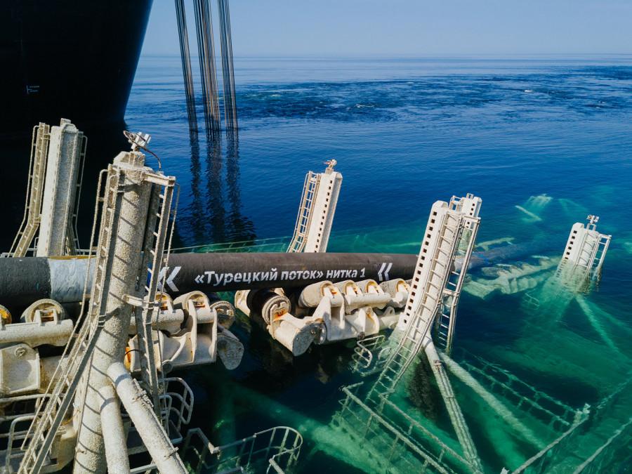Греция выразила заинтересованность в продлении «Турецкого потока»