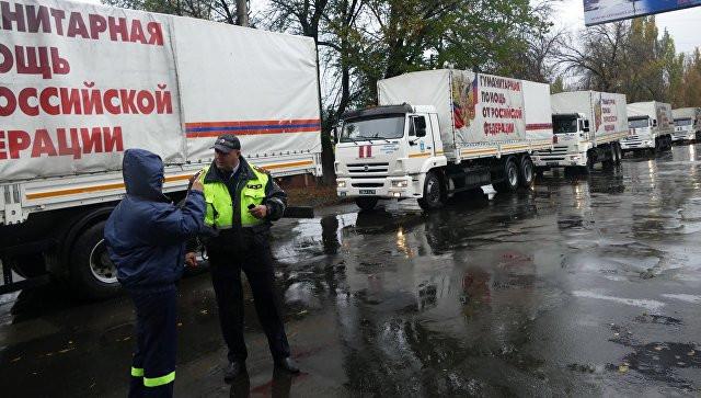 Россия сформировала 83-й конвой с гумпомощью для Донбасса