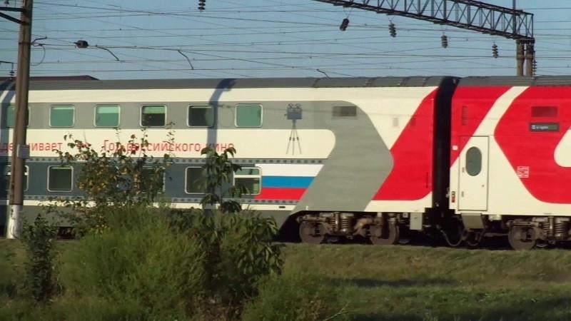 Для пассажирских составов в Крым покупают 2-этажные вагоны