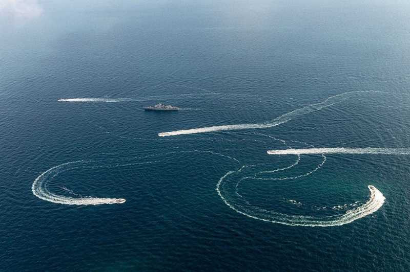 Какие силы России поддерживают порядок в Азовском море