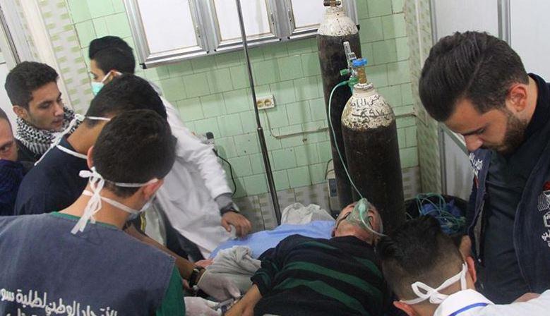 Медпомощь после химатаки оказали более 70 жителям Алеппо