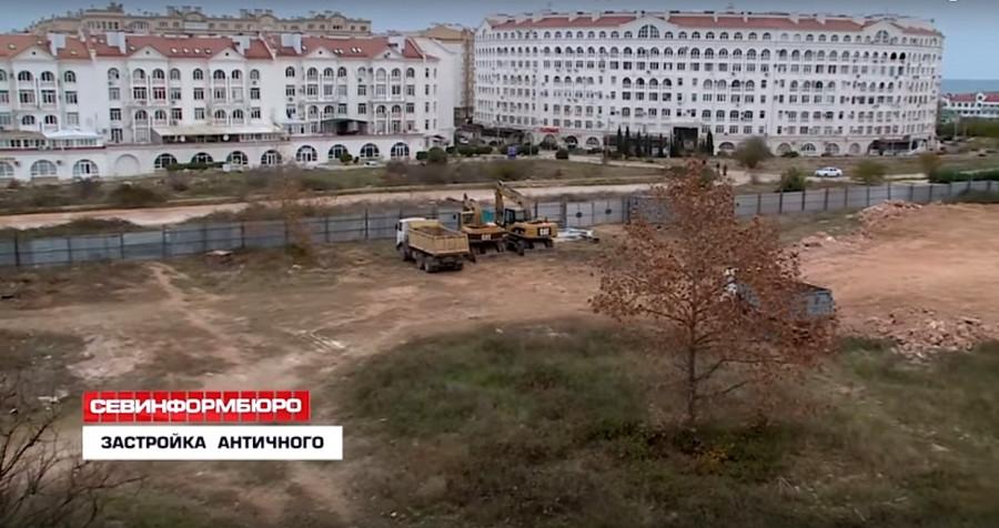 ForPost - Новости : В Севастополе возводят многоэтажку по соседству с усадьбой Евклида
