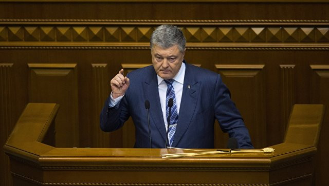 Военное положение ввели в десяти регионах Украины