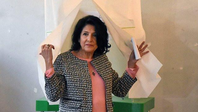 Зурабишвили побеждает на выборах президента Грузии