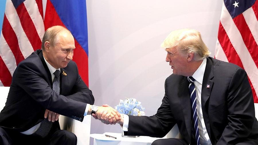 Стало известно время встречи Путина и Трампа