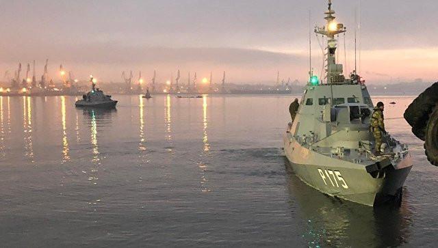 В Киеве рассказали, зачем отправили военные корабли в Керченский пролив