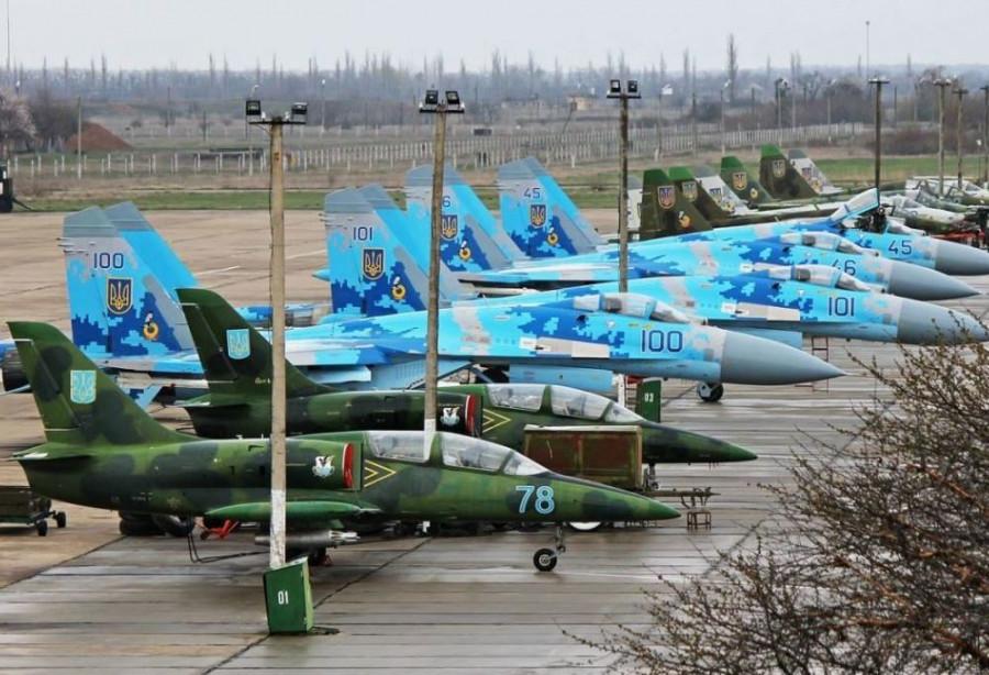Киев активизировал ремонт военных самолетов