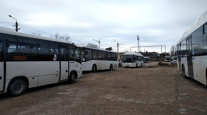 ForPost - Новости : Как общественный транспорт Севастополя зависит от одного компрессора