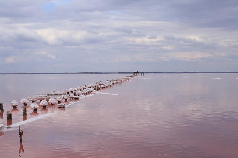 Одобрен проект восстановления дамбы «розового» озера в Крыму
