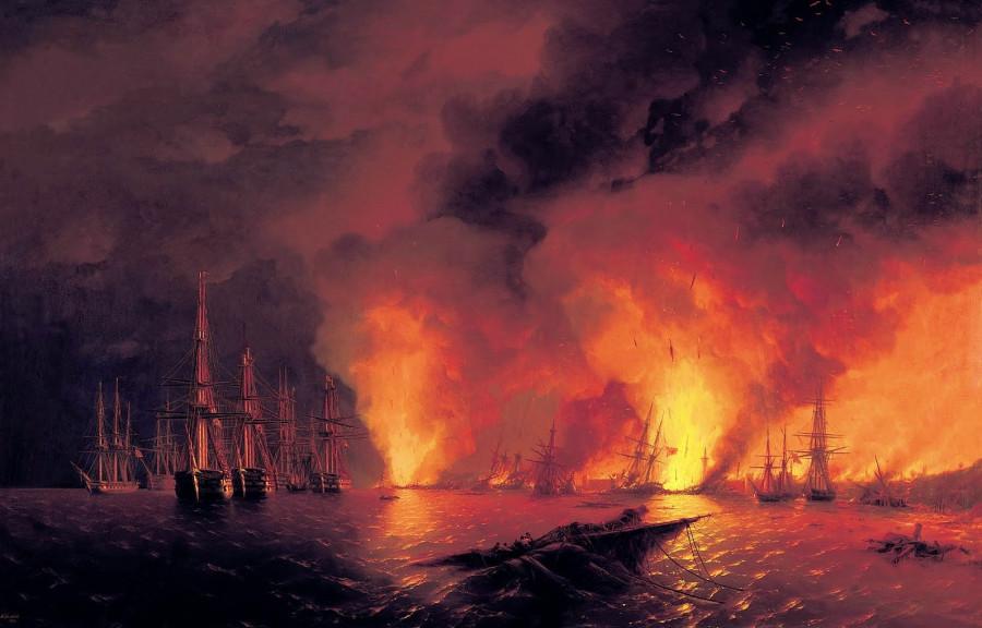 Севастополь отмечает годовщину последнего боя парусных флотов