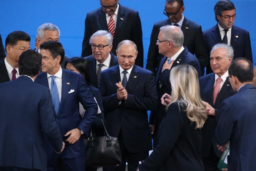 Путин рассказал об общении с Трампом в Аргентине