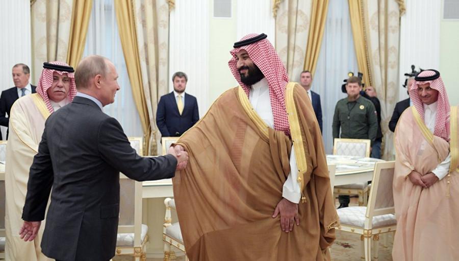 Нефть подорожала на договоренностях России и Саудовской Аравии