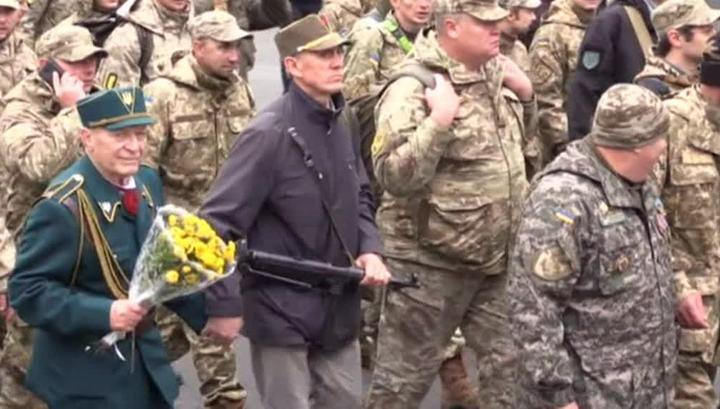 На Украине боевиков уравняли в правах с ветеранами
